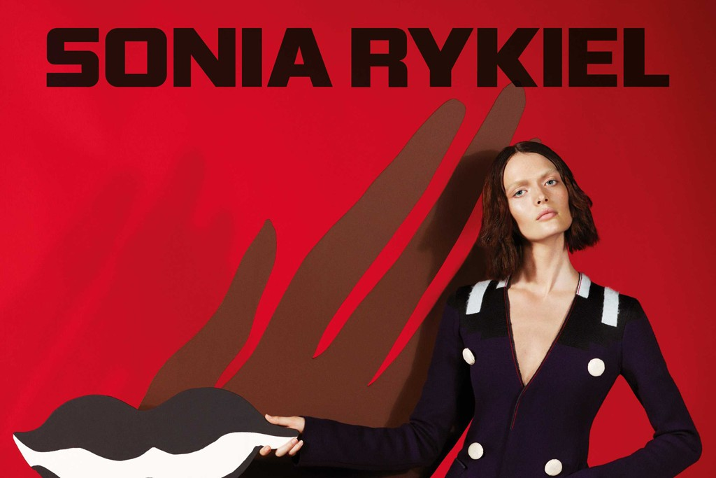 An ad from the Sonia Rykiel fall campaign.
