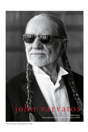 Willie Nelson in a John Varvatos ad.