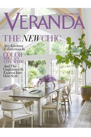 Veranda's July-August cover.