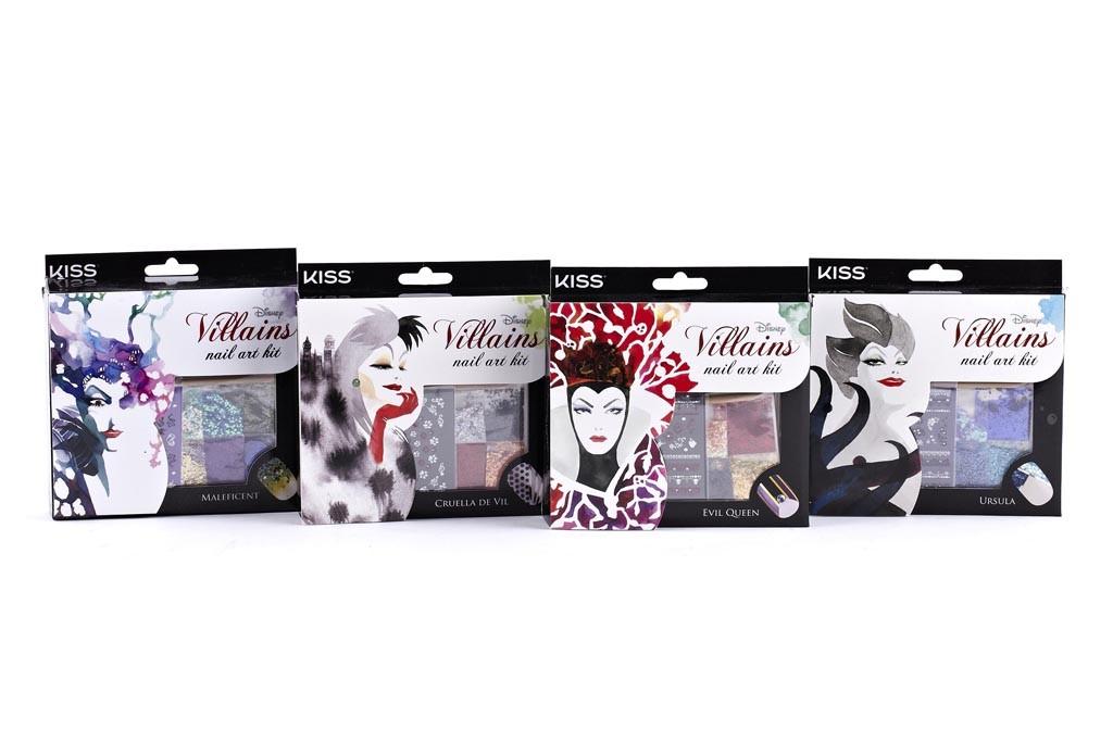 Disney Villains kits by Kiss Products.