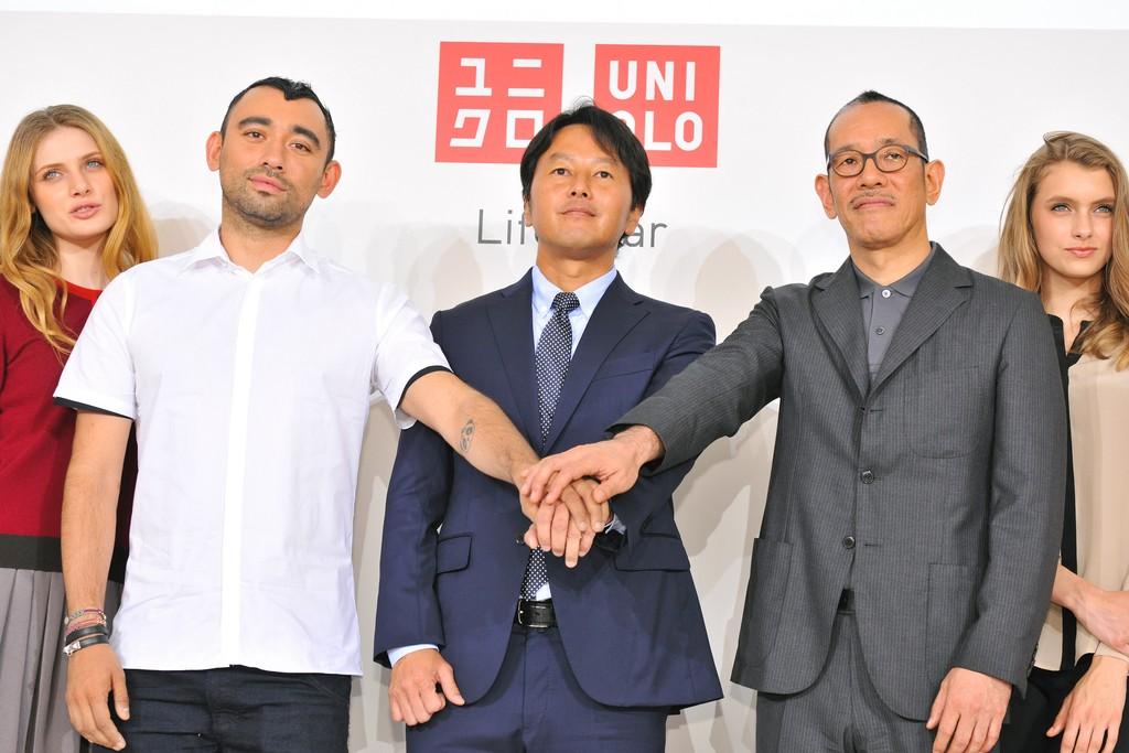 Nicola Formichetti, Yoshihiro Kunii and Naoki Takizawa