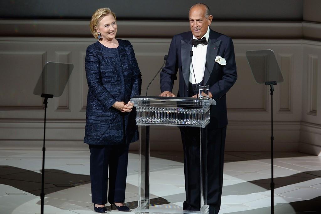 Hillary Clinton and Oscar de la Renta