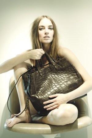 Tiziana Fausti's Fedra shopper.