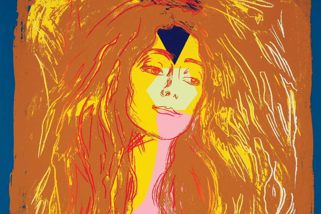 Andy Warhol's Edvard Munch-inspired work is on view at the Scandinavia House.