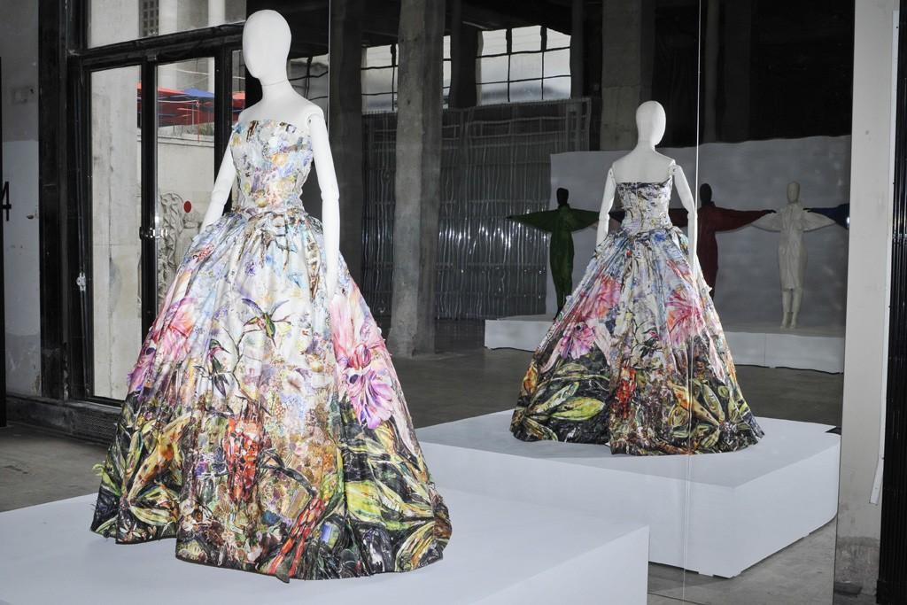 Vik Muniz's Peau d'Ane Gown