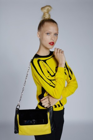 A look from Jean-Charles de Castelbajac's Wild Puzzle collection.