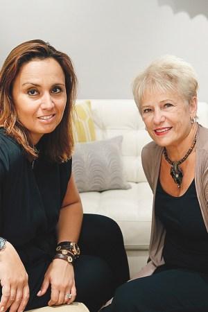 Andrea Hansen and Phyllis Bergman