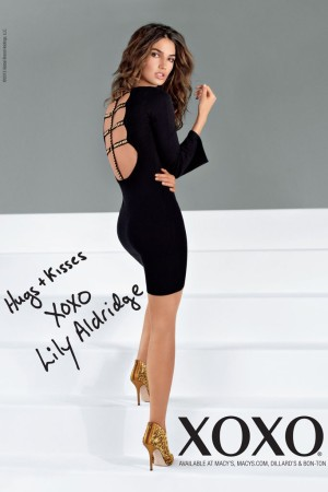 Lily Aldridge in the XOXO ad campaign.