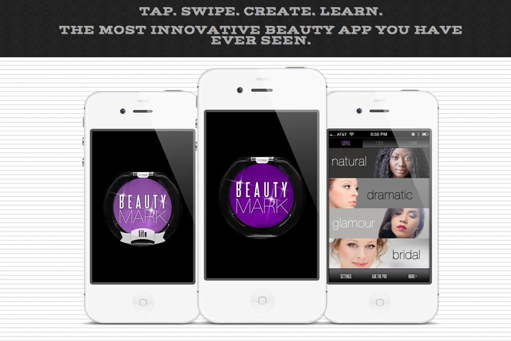 The Beauty Mark app.