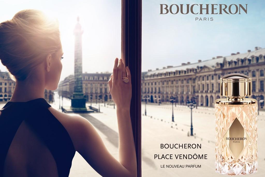 An ad for the Boucheron Place Vendôme fragrance.