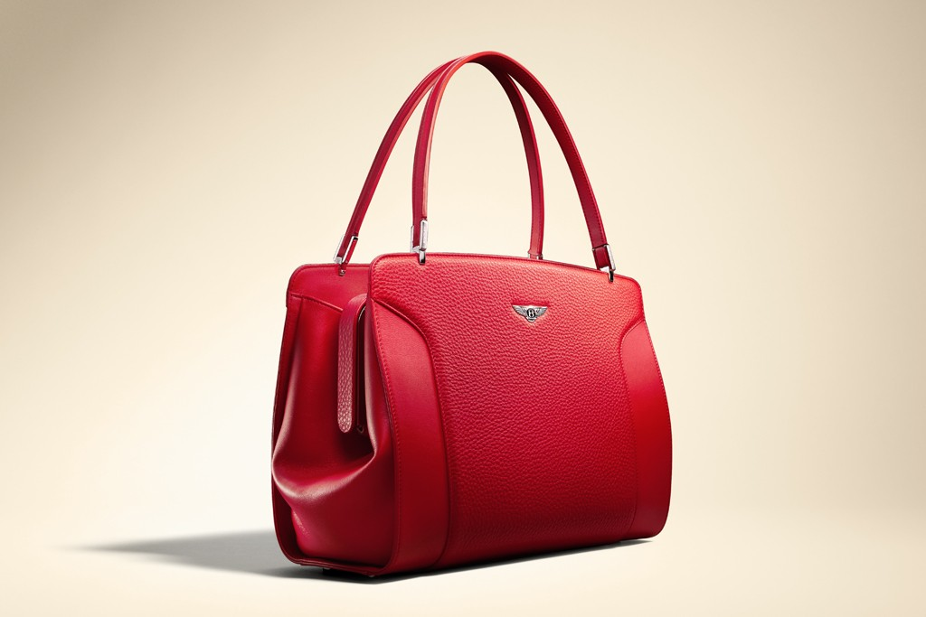 A Bentley bag design.