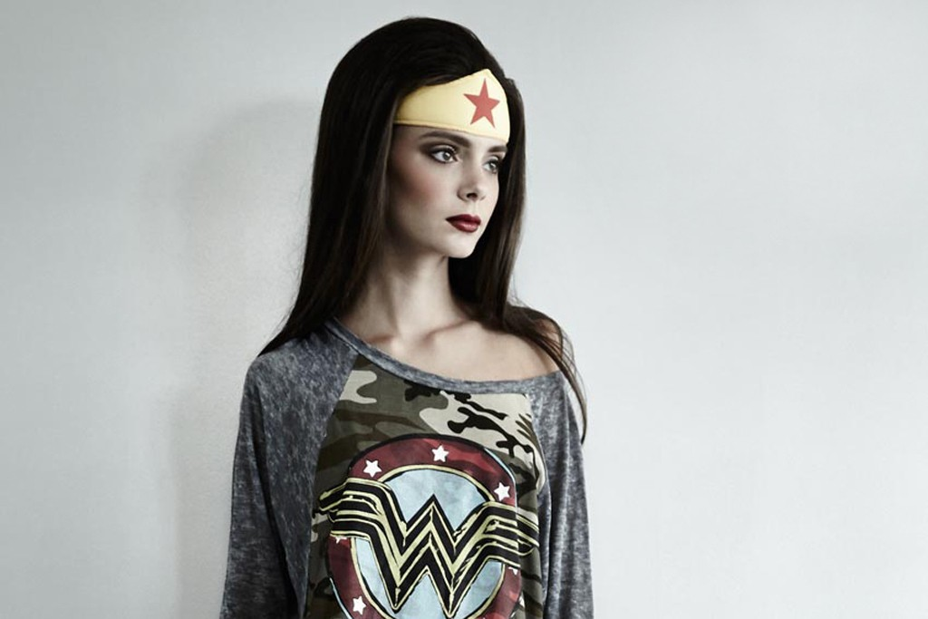 A look from Lauren Moshi's capsule collection for Warner Bros.