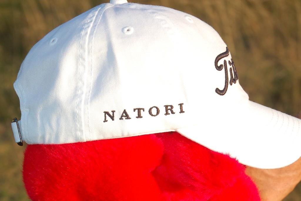 Natori's championship items.
