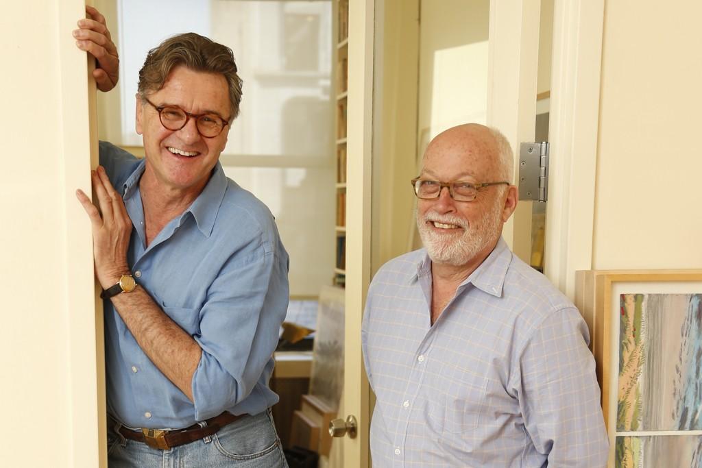 Christian Brechneff and Tim Lovejoy