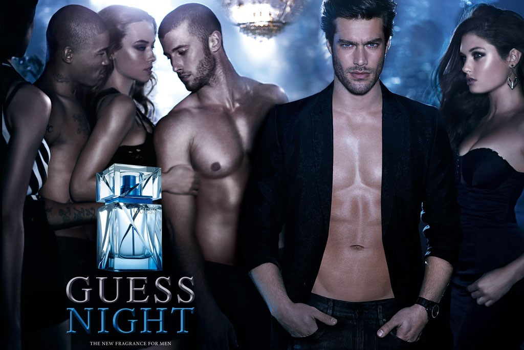 An ad for Guess Night.