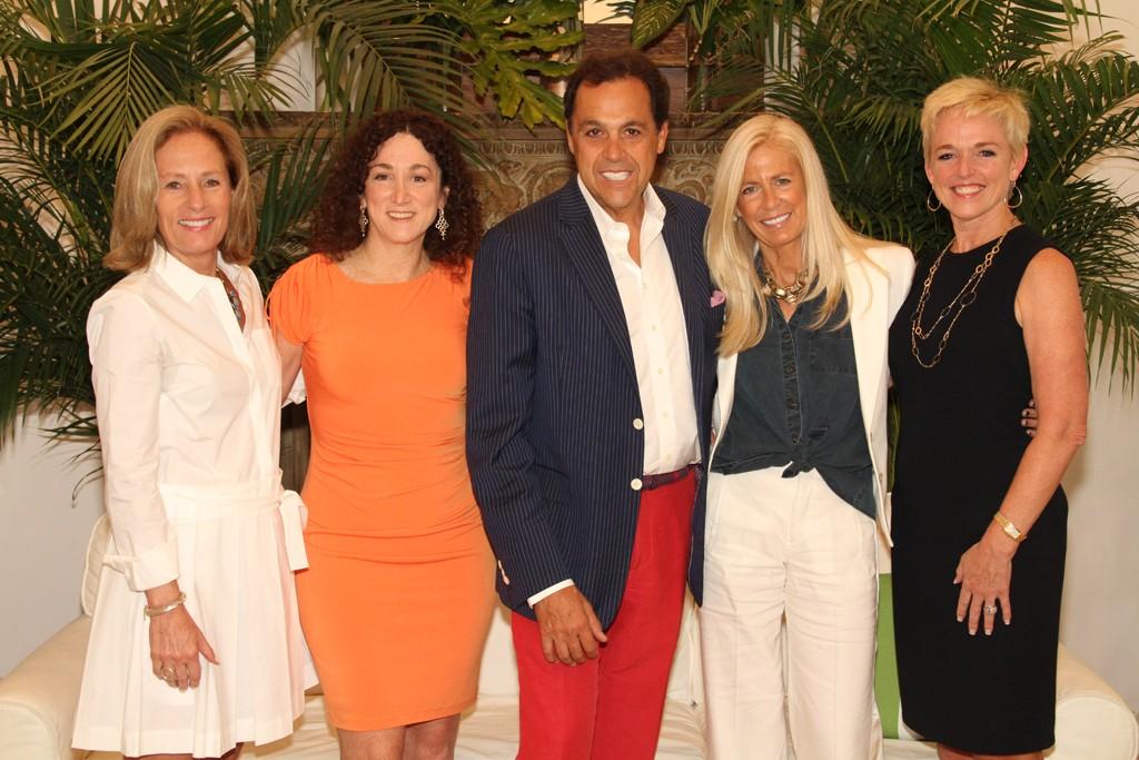 Diane Sullivan, Jill Granoff with Sam and Libby Edelman and Lynn Shanahan.
