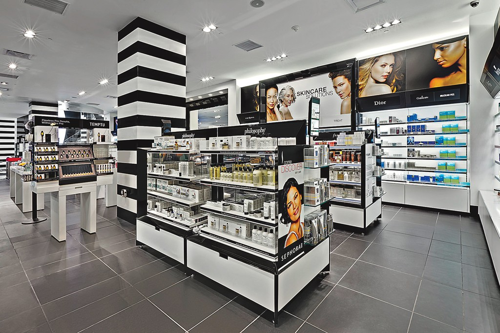 A Sephora store in Mexico.