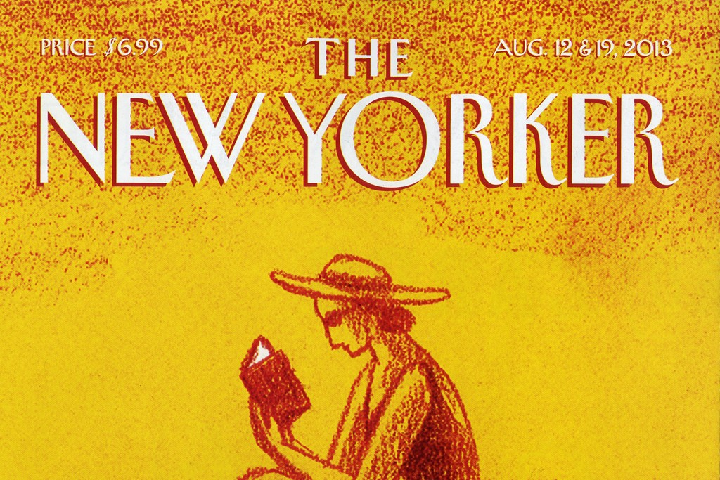 Cover of The New Yorker.