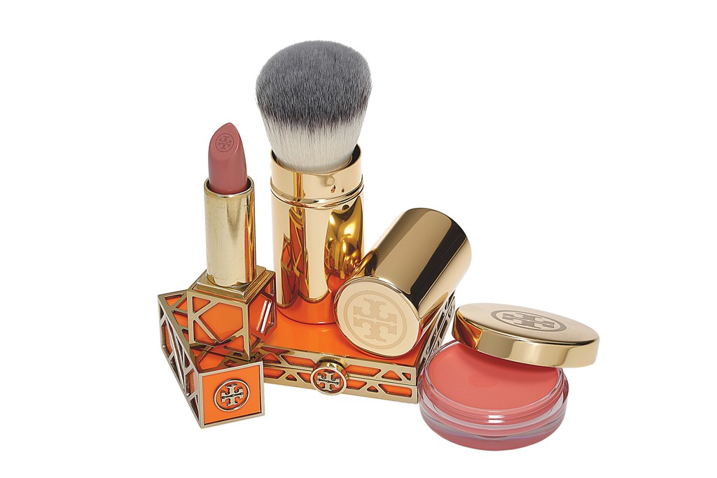 Tory Burch capsule color cosmetics collection.