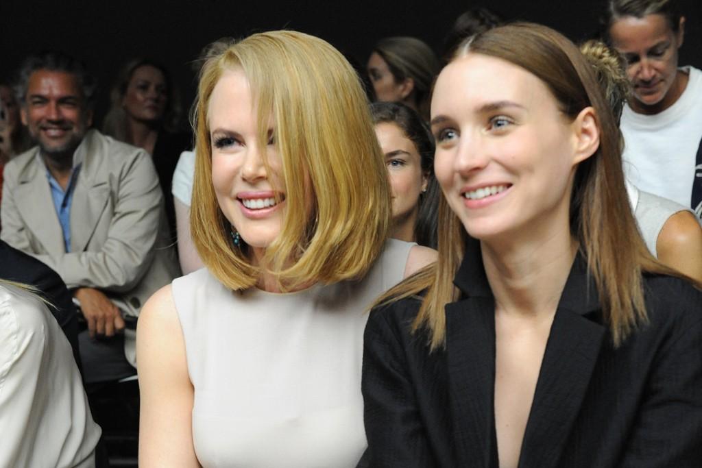 Nicole Kidman and Rooney Mara
