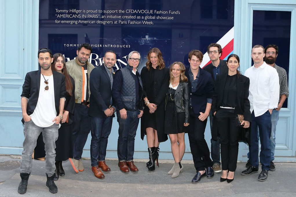 Tommy Hilfiger and the designers