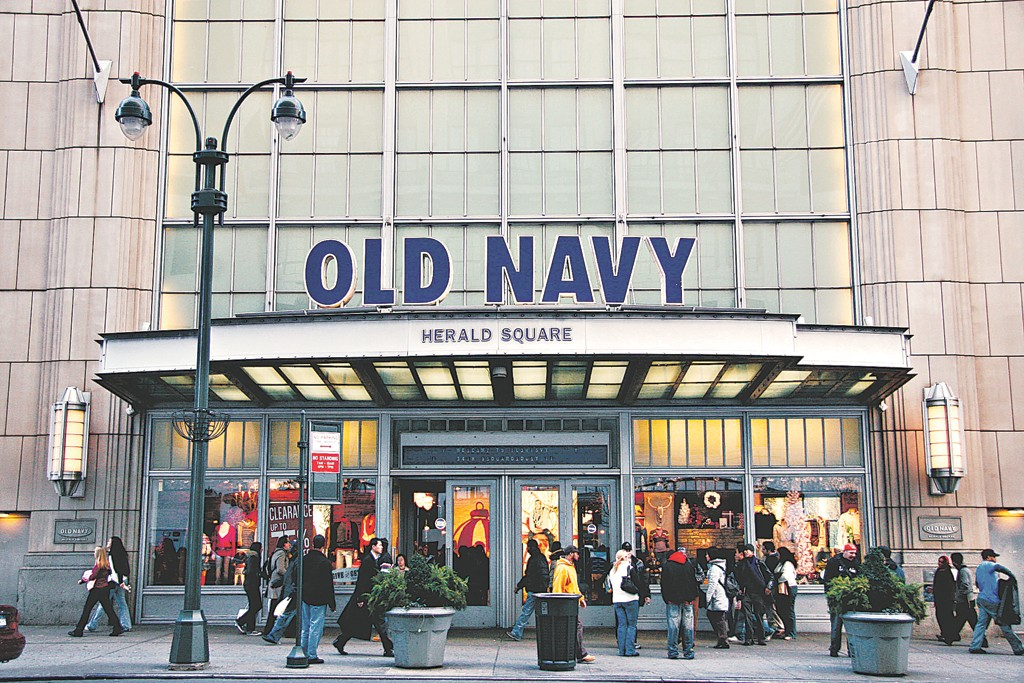 Gap sees great potential for Old Navy.