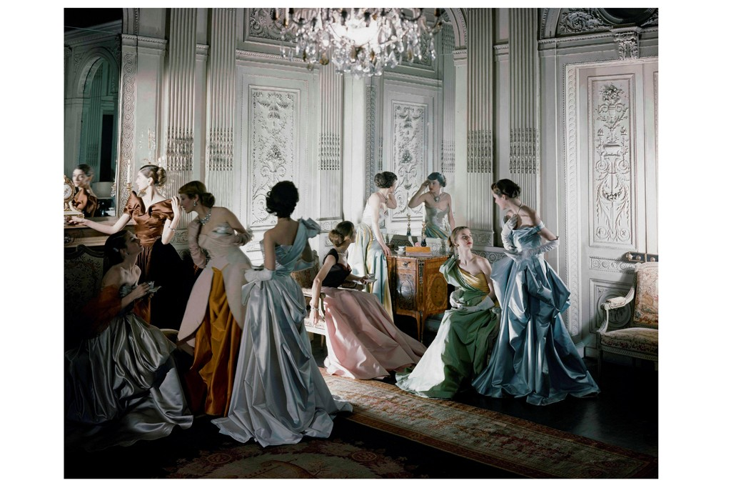 Ballgowns by James, 1948.