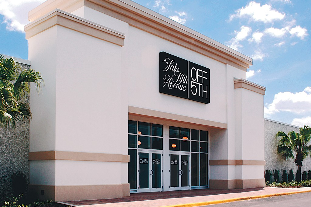 The Saks Fifth Avenue Off 5th outlet in Orlando.