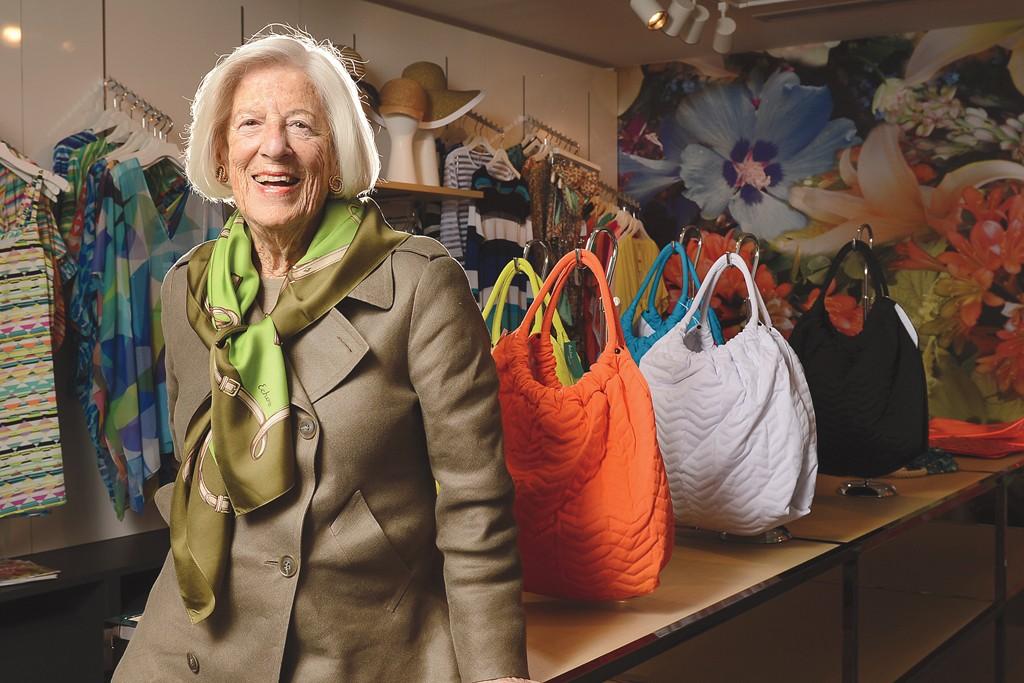Dorothy Roberts in the Echo showroom.