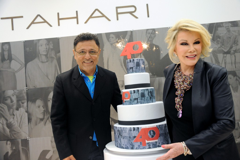 Elie Tahari and Joan Rivers
