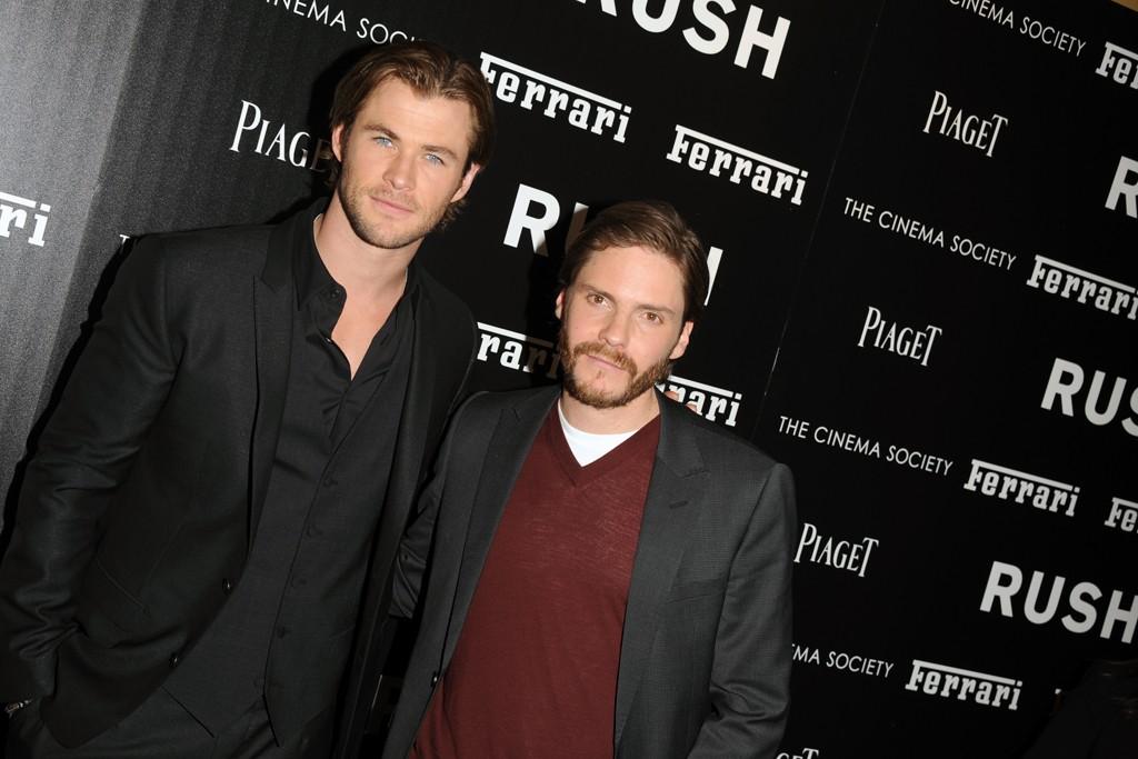 Chris Hemsworth and Daniel Brühl