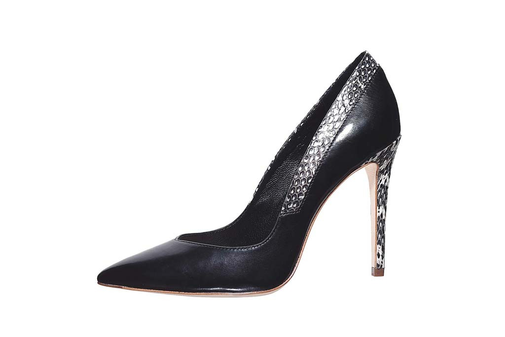 Elie Tahari Women's footwear is made by Highline United.