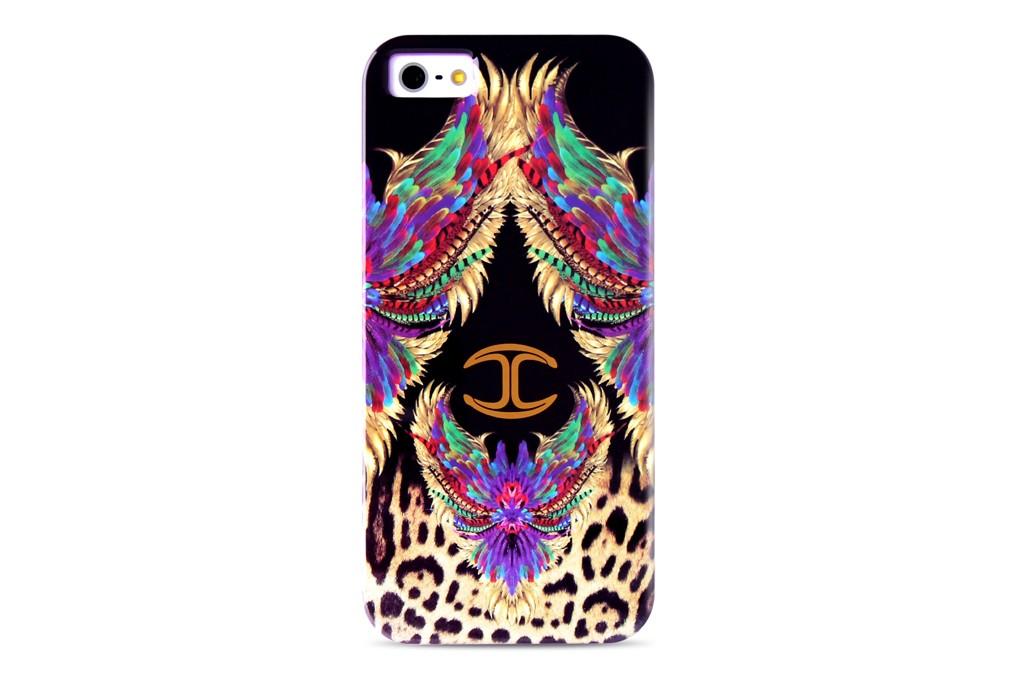 A Just Cavalli iPhone case.