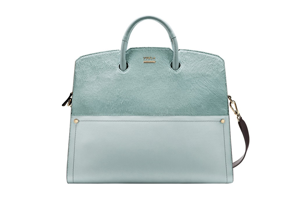 A handbag from Furla's spring '14 collection.