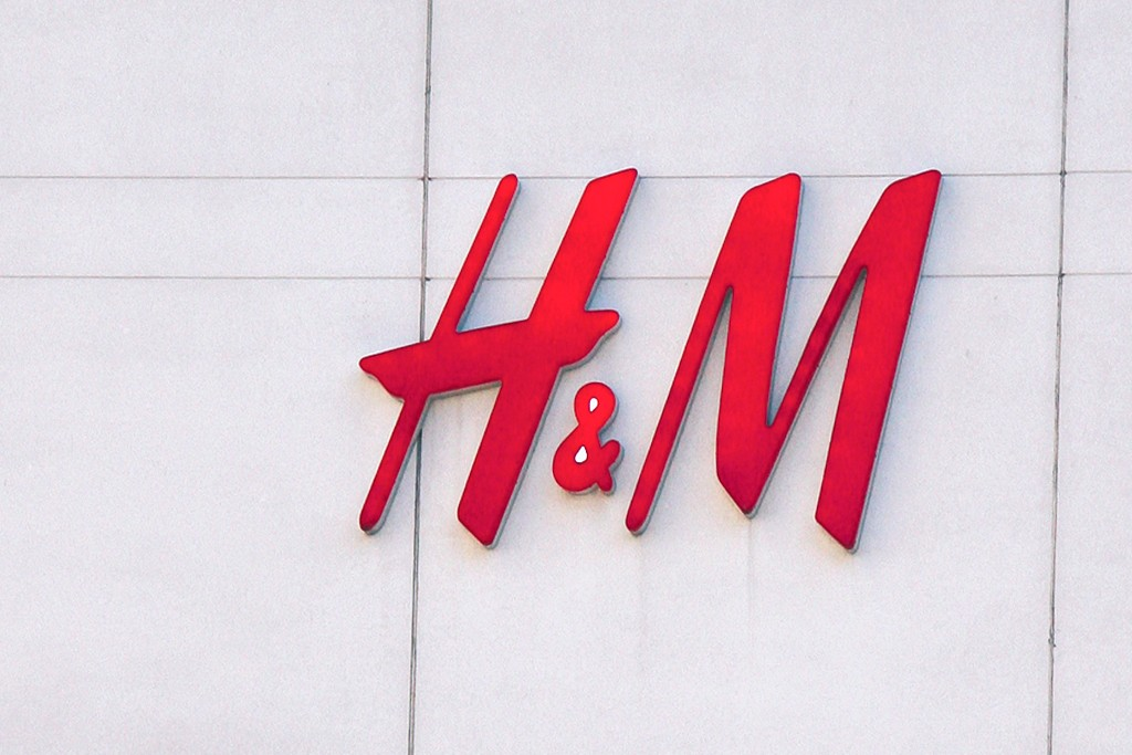 An exterior of an H&M store.