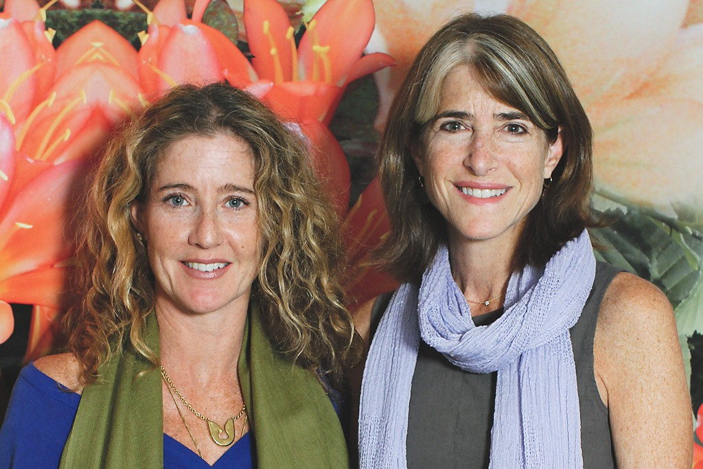 Leslie Dessner and Meg Roberts