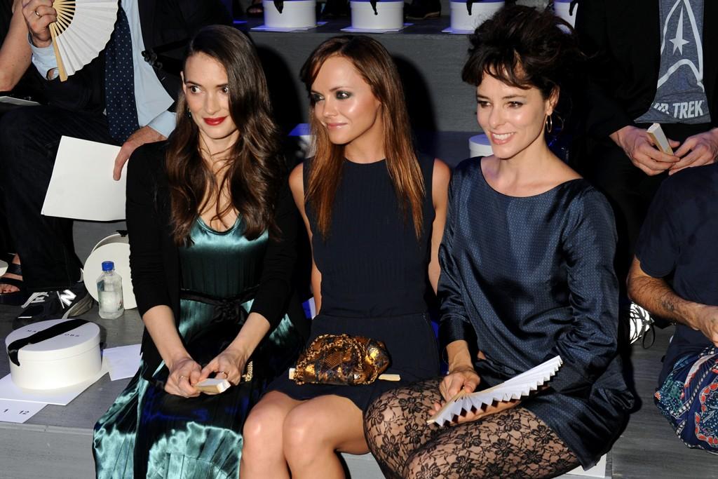 Winona Ryder, Christina Ricci and Parker Posey.