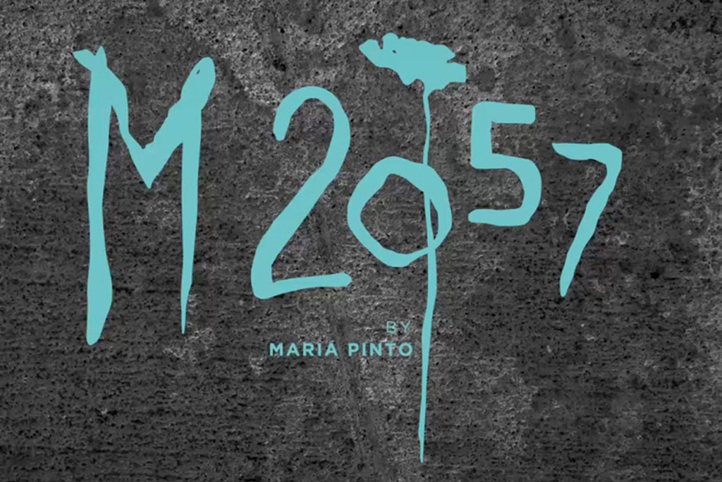 The logo for Maria Pinto's new line.