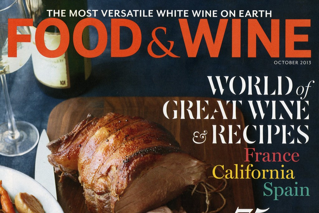 Food & Wine October issue