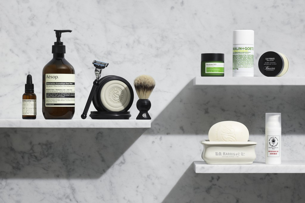 A section of Mr Porter will be dedicated to grooming.