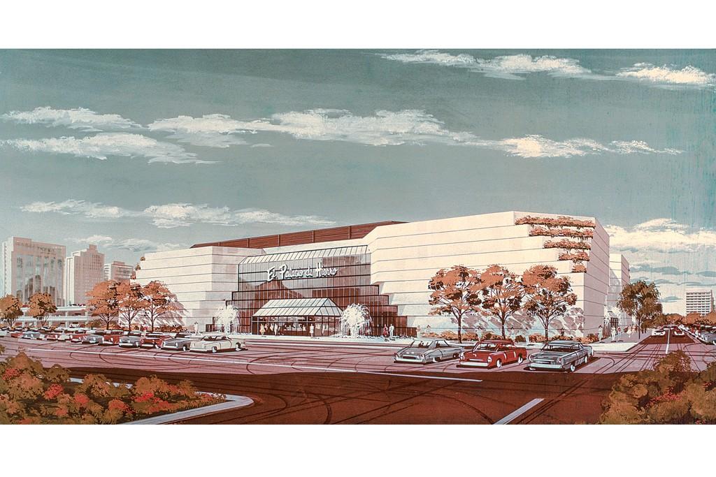 El Palacio in the Perisur mall opened in 1980 in Mexico City.