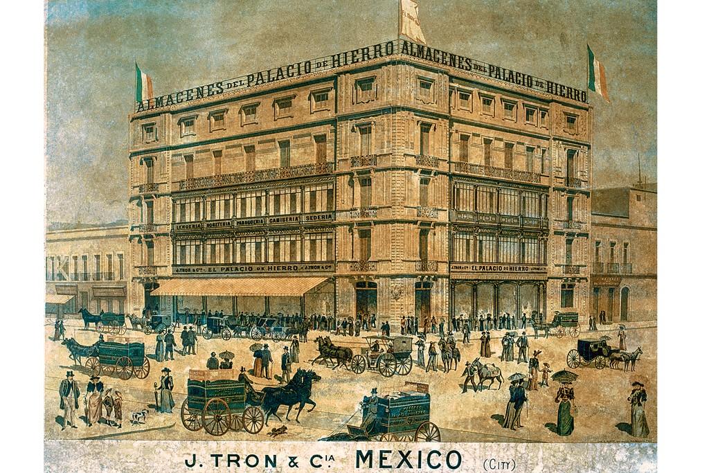 The first El Palacio de Hierro store in Mexico City.