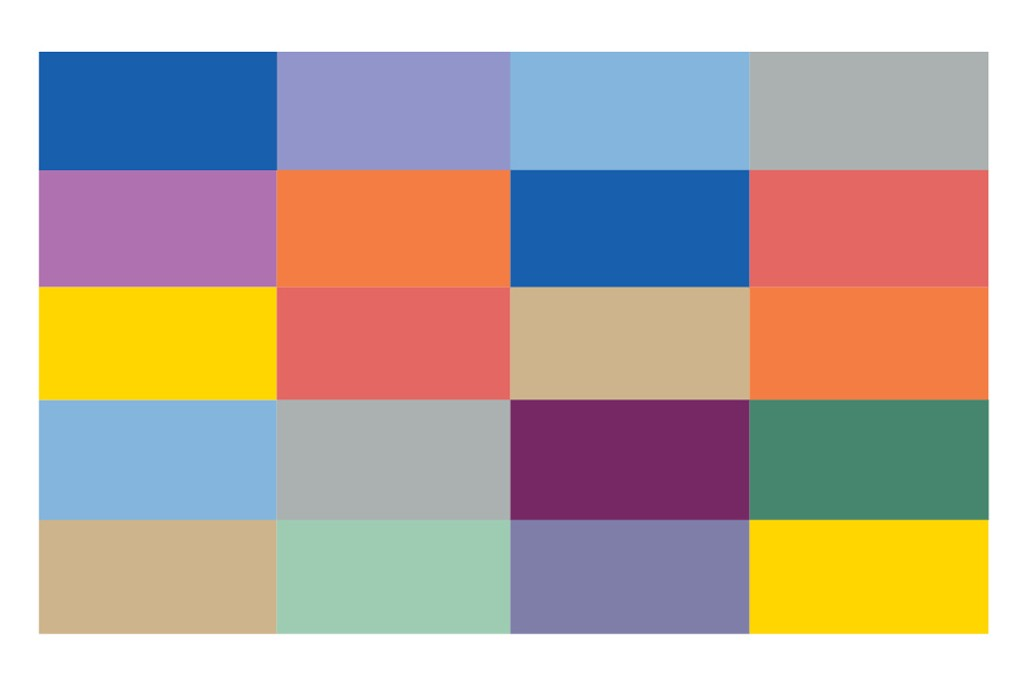 Key colors for Spring 2014.