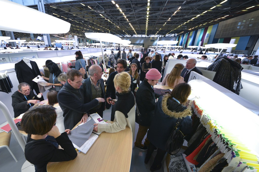 Première Vision expects 4 percent more exhibitors this edition compared to September of last year.