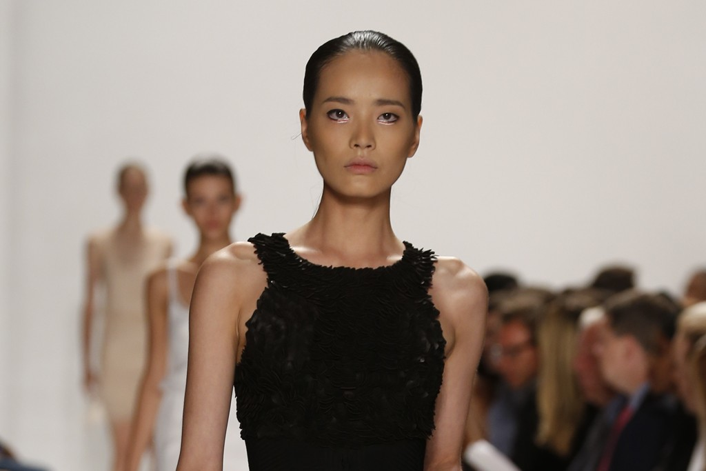 Beauty at Ralph Rucci RTW Spring 2014