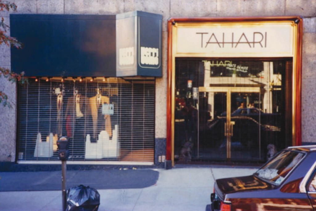 Elie Tahari opens his first boutique on Madison Avenue in 1977.