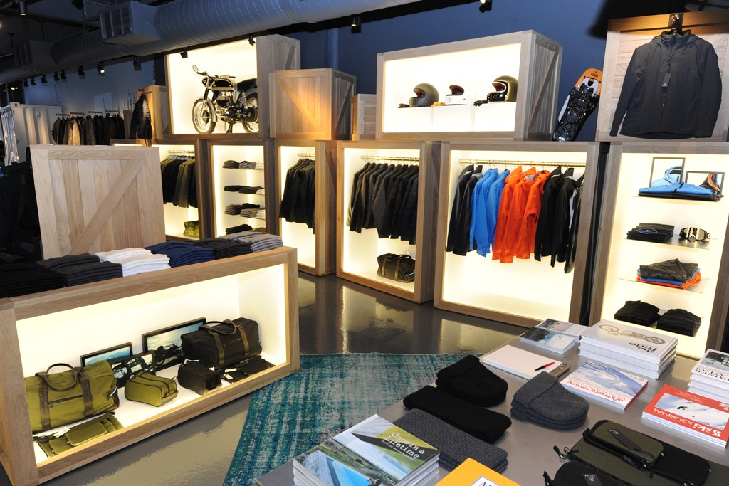The Aether store in SoHo.