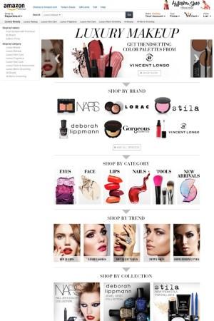 Amazon.com's Luxury Beauty Store.