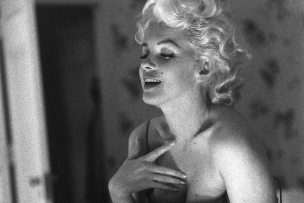 The new Chanel No. 5 image with Marilyn Monroe.