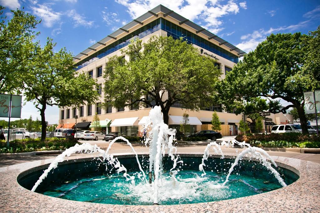 The Plaza at Preston Center in Dallas.